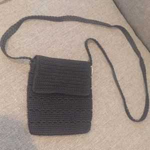Old Navy woven purse